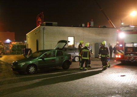 Autobrand Oosthoutlaan Sassenheim