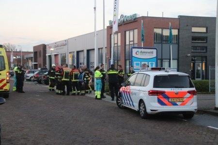 P1 Persoon te water Industriekade Sassenheim