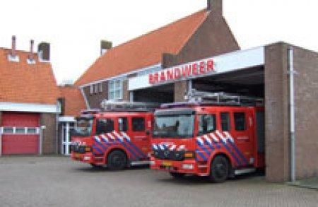 P1 brandgerucht Loosterweg Voorhout