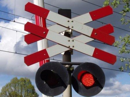 P1 Ongeval spoorvervoer Menneweg Sassenheim