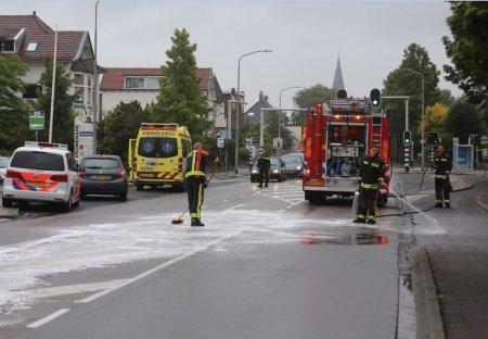 Ongeval auto/auto Hoofdstraat Sassenheim