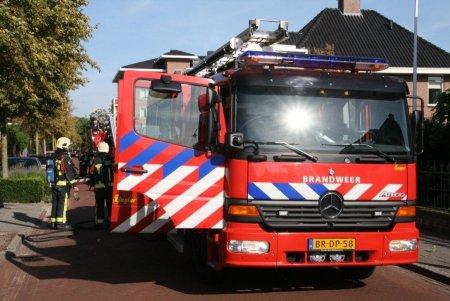P1 Gebouwbrand Middenweg Lisse