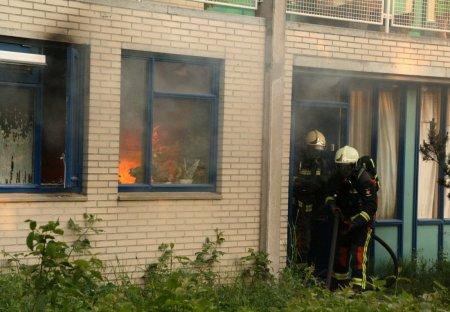 Gebouwbrand Hyacintstraat Katwijk