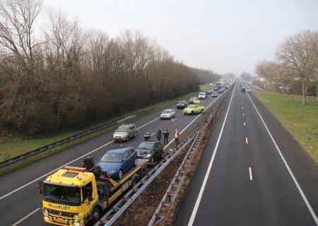 Ongeval A44 Sassenheim