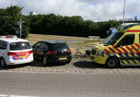 Ongeval auto / fietsster Noordwijkerweg Noordwijk