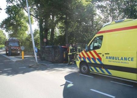 P1 Ongeval letsel (beknelling Zwaar) Laan van Rijkckevorsel Lisse