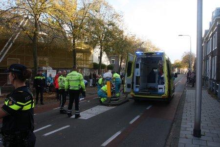 Ongeval auto/fiets Rijnstraat Katwijk
