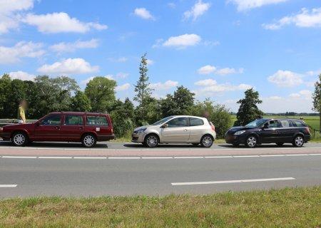 Ongeval meerdere auto's van Pallandtlaan N208 Sassenheim