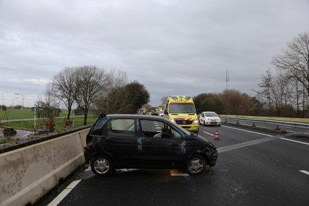 Eenzijdig ongeval A44 Sassenheim