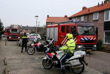 Woningbrand ( keuken ) Meidoornstraat Noordwijk