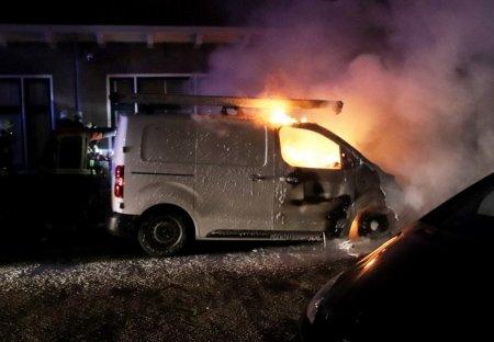 Autobrand De Waal Malefijtstraat Katwijk