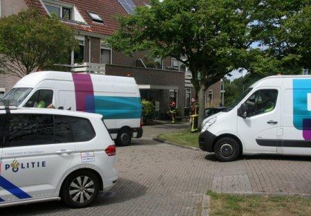 Portiekwoningen ontruimd na gaslekkage Haagwinde Noordwijk