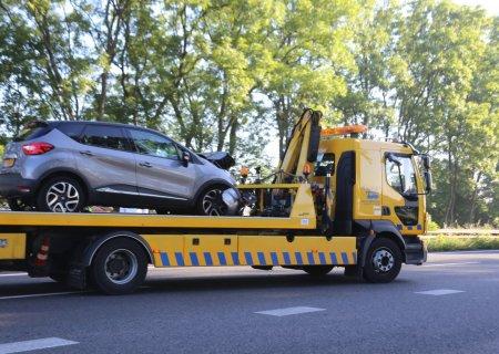 Ongeval tussen twee auto's A44 Sassenheim