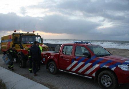 Verontreiniging object strand Katwijk