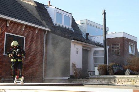 Keukenbrand Piet Heinstraat Noordwijk