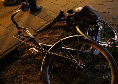 Vader en dochter komen ten val met fiets Katwijk