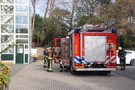 Brand in berging Boslaan Katwijk