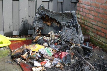 Containerbrand Duinzicht Noordwijk