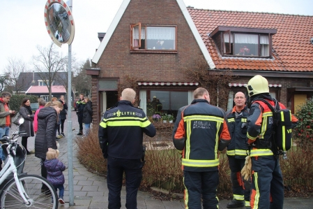 Prio1 Gebouwbrand woning Menneweg Sassenheim