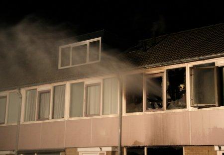 Woningbrand Van der Duyn van Maasdamlaan Hillegom