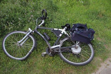 Ongeval Auto met electrische fietser Katwijk