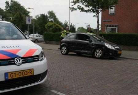 Ongeval Parklaan / Wethouder D. Ouwehandstraat in Katwijk