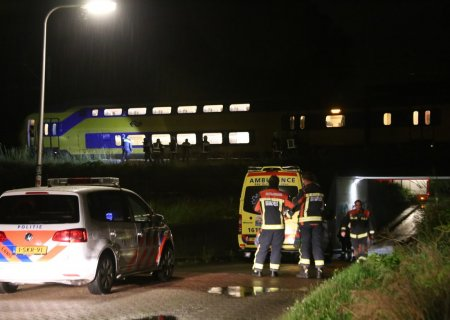 Ongeval persoon met trein Sassenheim