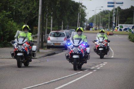 Toetertoer door Noordwijk