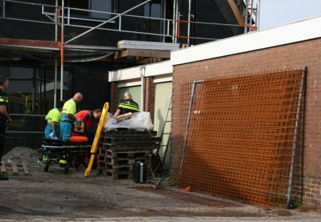 Man raakt gewond bij val van steiger Trompstraat Noordwijk