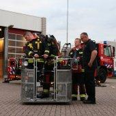 Goede opkomst inloopavond brandweer Noordwijk