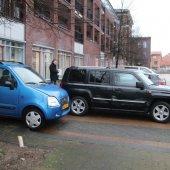 Flinke schade na parkeer ongeval Campus Noordwijkerhout