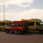 Dode persoon in zee ter hoogte van afrit 26 Noordwijk