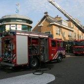 Middelbrand Noordzeepassage Katwijk (Foto update)