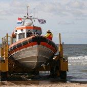 Jacht in problemen Noordwijk