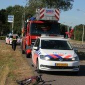 Persoon te water Gooweg Noordwijkerhout