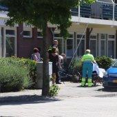Ongeval fietsster met auto Kerkstraat Noordwijkerhout