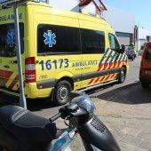 Ongeval ambachtsweg Katwijk