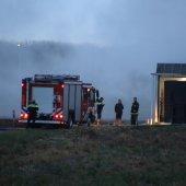 Gebouwbrand Wassenaarseweg N441 Katwijk