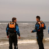RWC opleiding KNRM lifeguards in training