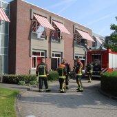 Binnenbrand zorginstelling Nieuweweg Hillegom