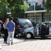 Ongeval tussen twee auto's Pilarenlaan/Kerkstraat Noordwijkerhout