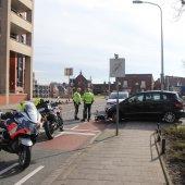 Vrouw schrikt en valt Tramstraat Katwijk