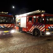 Grote brand Koudenhoorn Warmond (video update)
