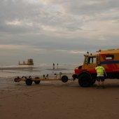 Zwemmer in problemen blijkt kanoër die zit te vissen