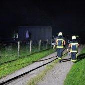 Gebouwbrand Rijnsburgerweg Voorhout