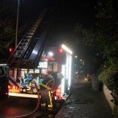 Gebouwbrand Prinses Margrietlaan Katwijk