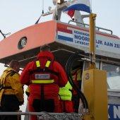 Buitenlandse collega's op bezoek KNRM Noordwijk
