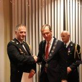 Paul Somhorst Koninklijk onderscheiden Noordwijkerhout