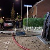 Woningbrand Goudenregenplantsoen Rijnsburg