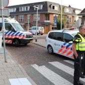 Frontale klapper Noordeinde Rijnsburg